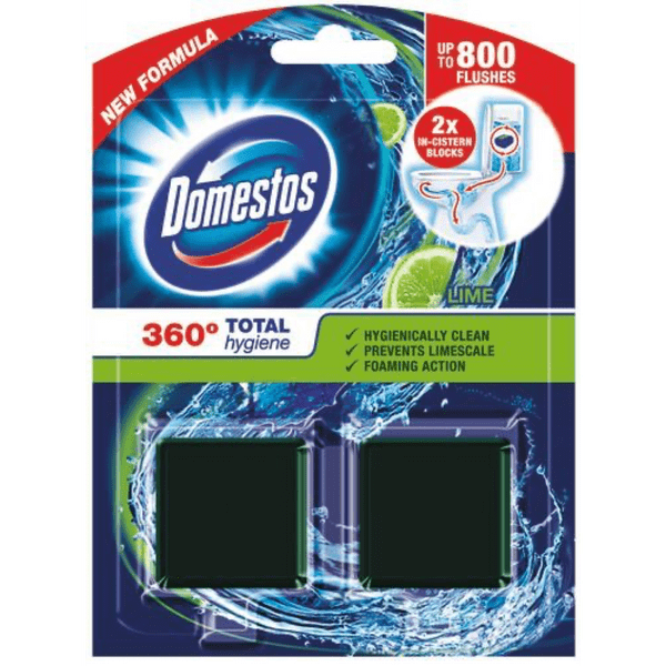 Domestos Duopack Cistern Lime
