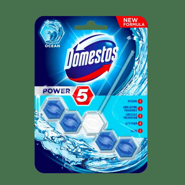 Domestos Power 5 Ocean Toilet Block