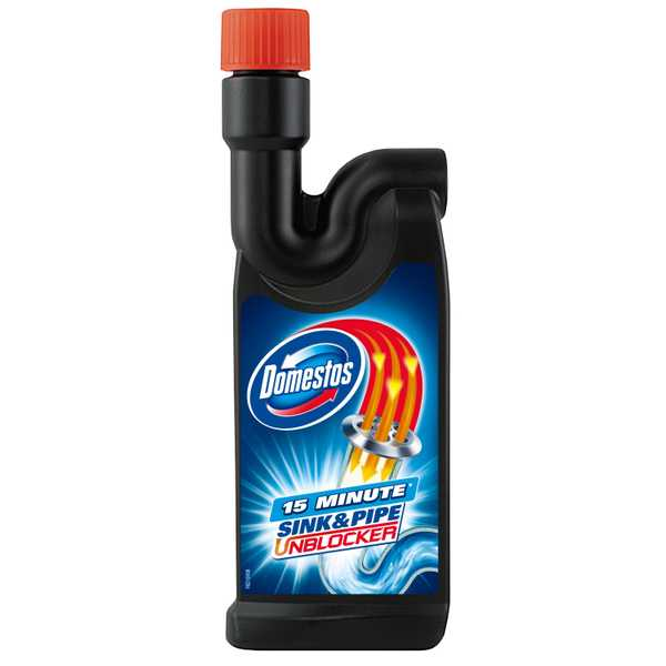 Domestos Sink and Pipe Unblocker