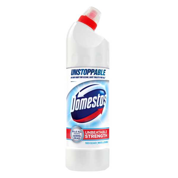 Domestos Thick Bleach Ultra White