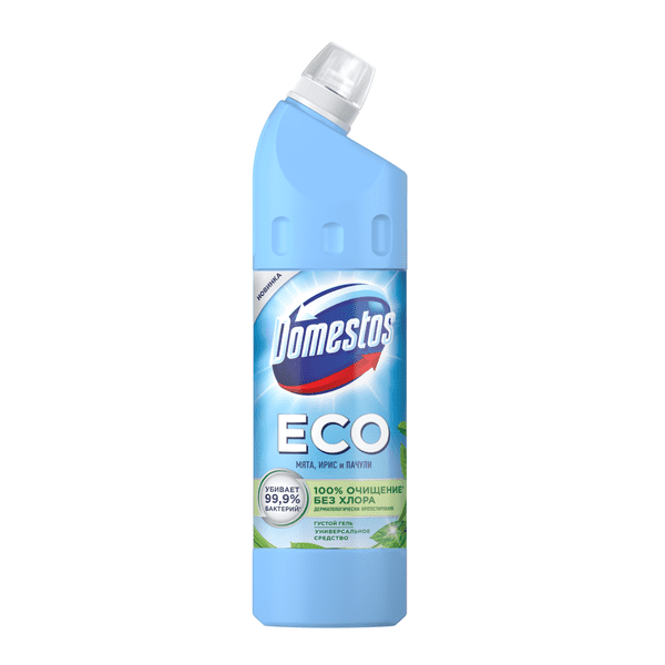 Универсальное чистящее средство Domestos ECO Мята, Ирис, Пачули