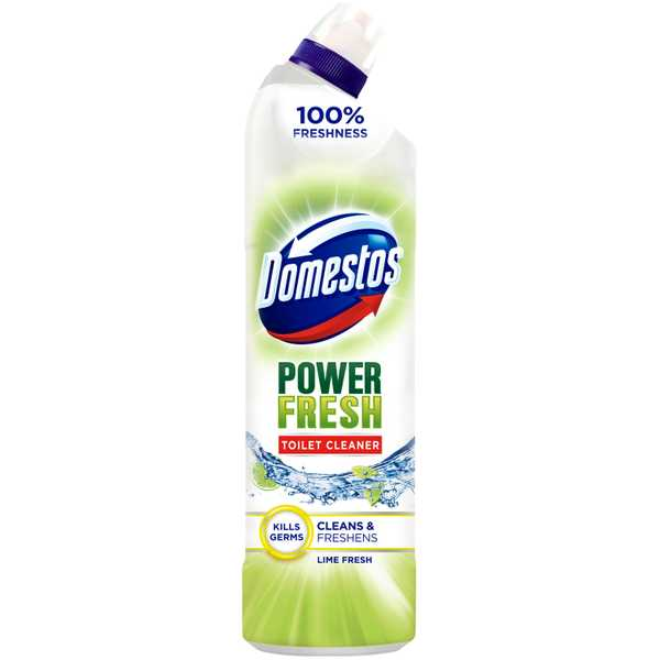 Domestos Power Fresh Lime Toilet Gel