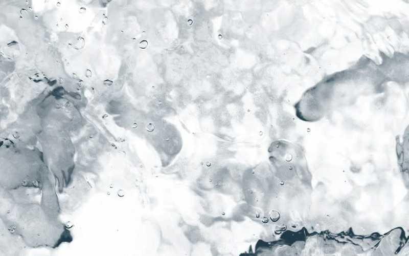 Germs seen through microscope