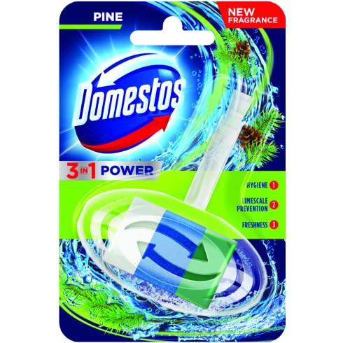 Domestos 3in1 kosaras wc-rúd pine